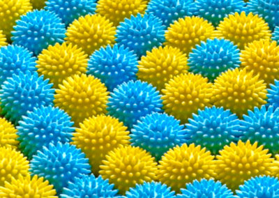Massage ball carpet